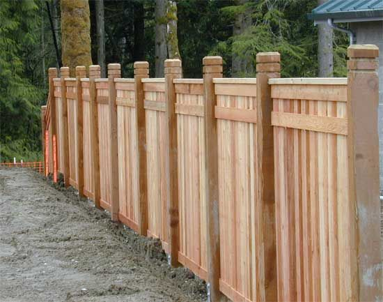 wooden fence designs wood fences our custom wood fences are made from premium western red ideas