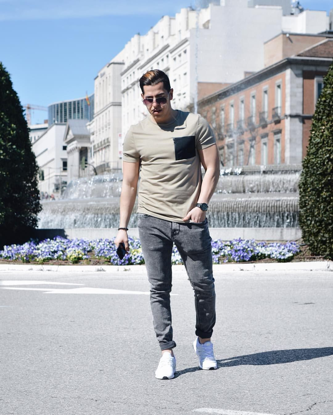Men Fashion Casual Summer Style Urban Hipster Edgy Tips Outfits Adidas Ultra