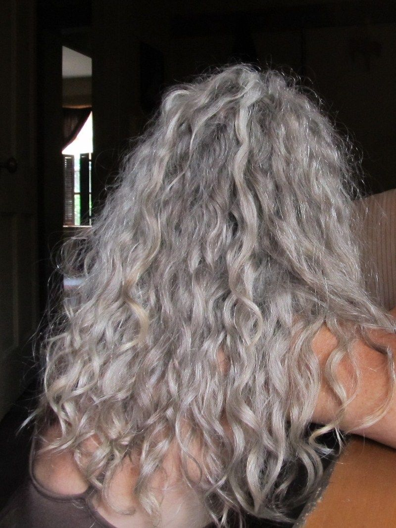 grey is beautiful … or is it? | hair | curly hair styles