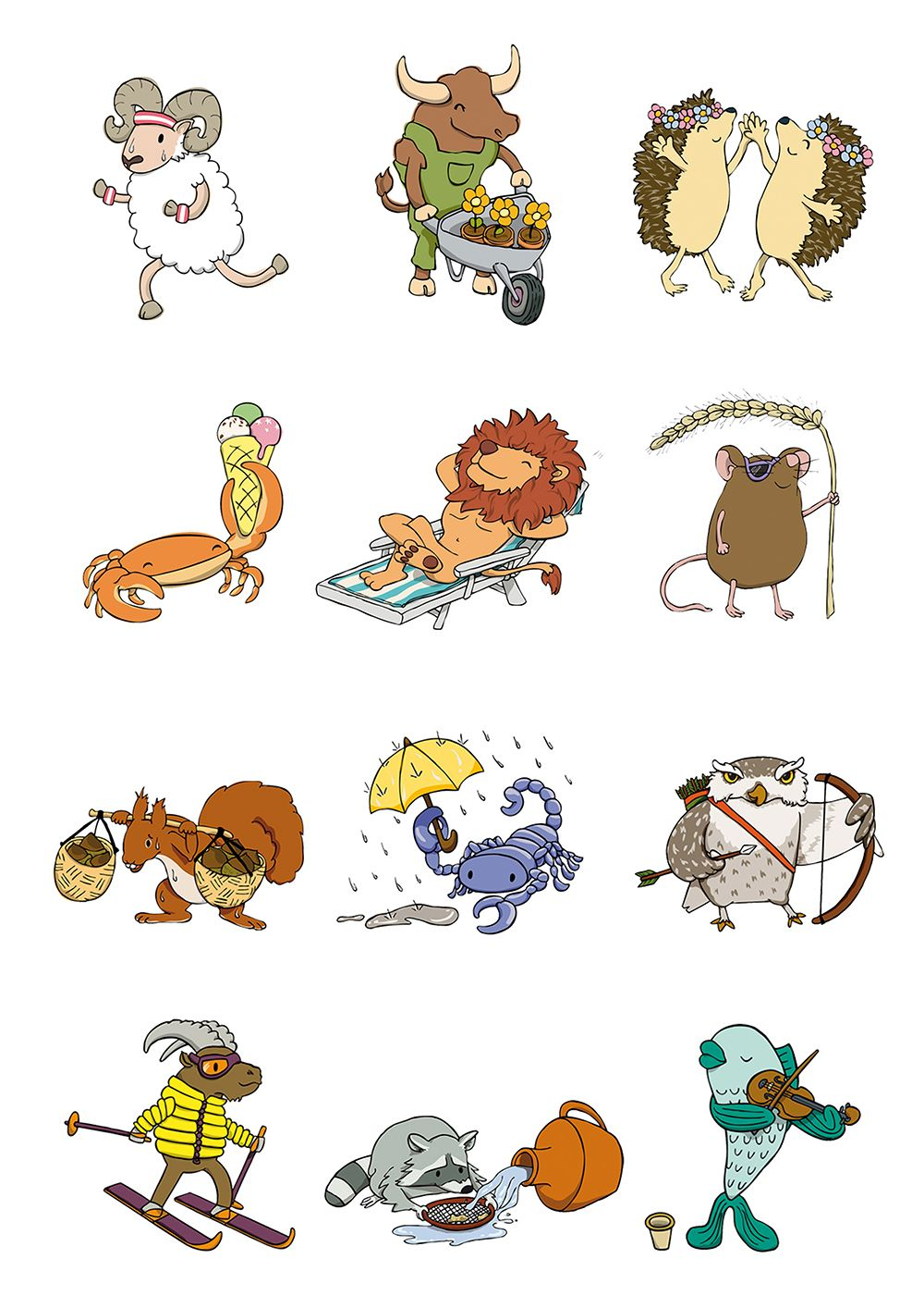 Cute zodiac zodiac pinterest zodiac horoscopes and taurus the 12 zodiac signs traits meanings symbols colors and more buycottarizona Images