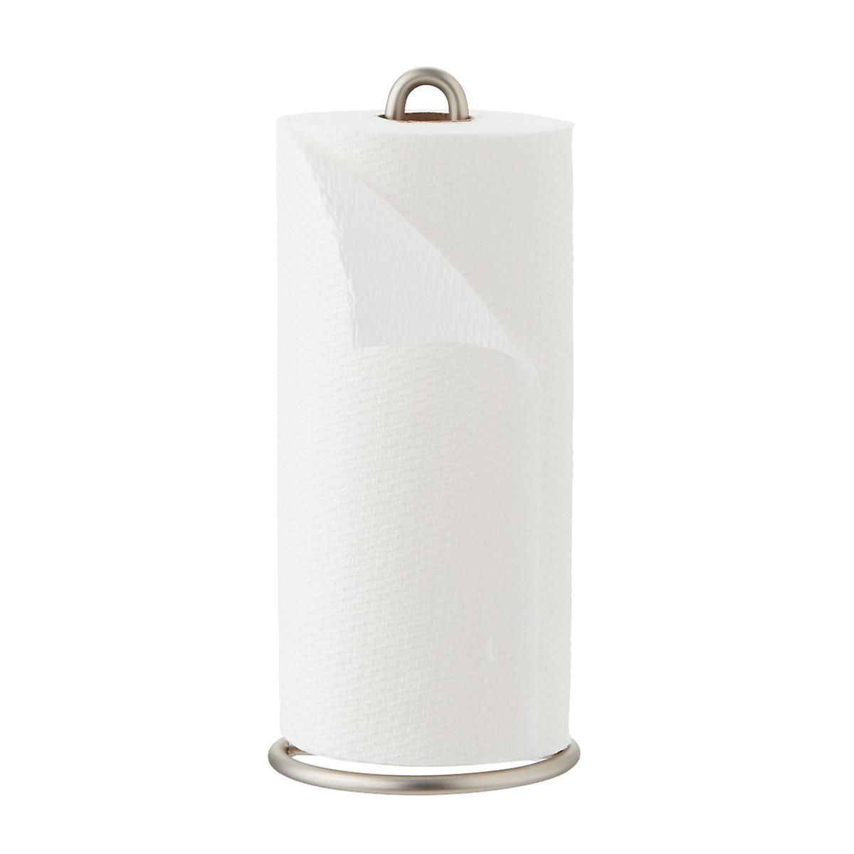 Design Ideas Satin Nickel Paper Towel Holder Paper Towel Holder