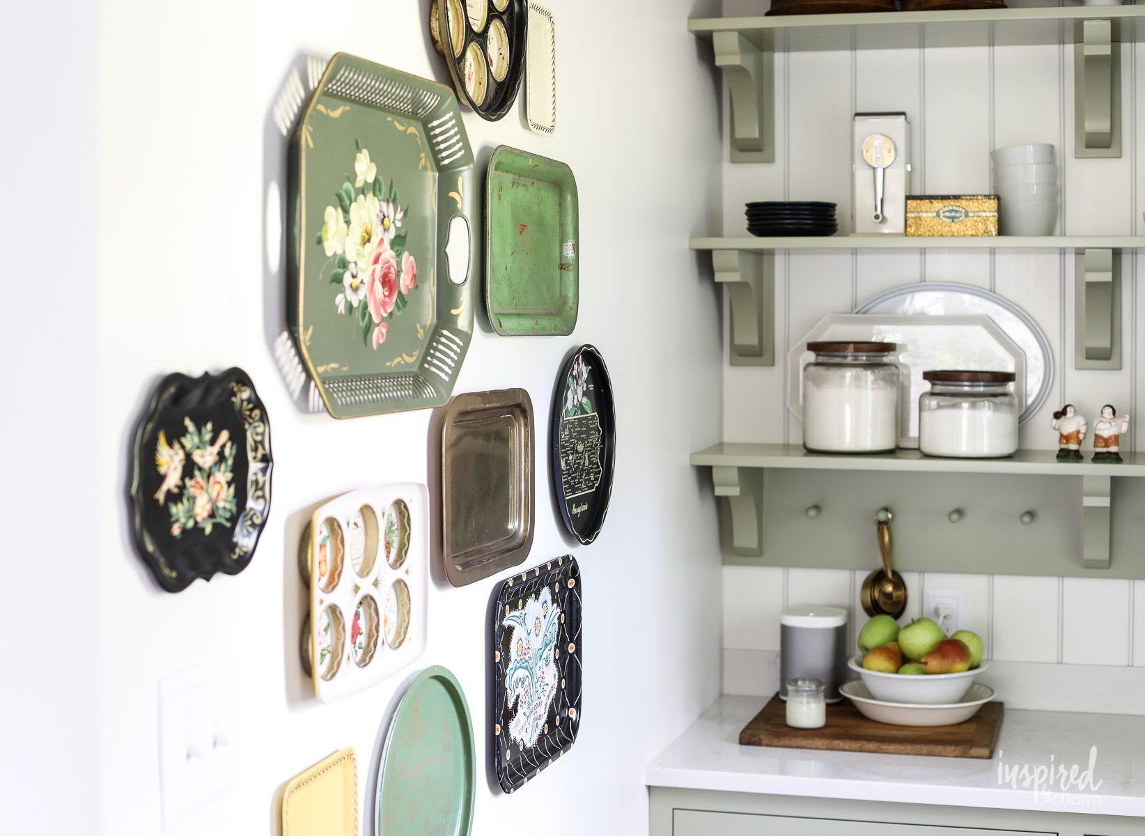 metal kitchen wall decor ideas