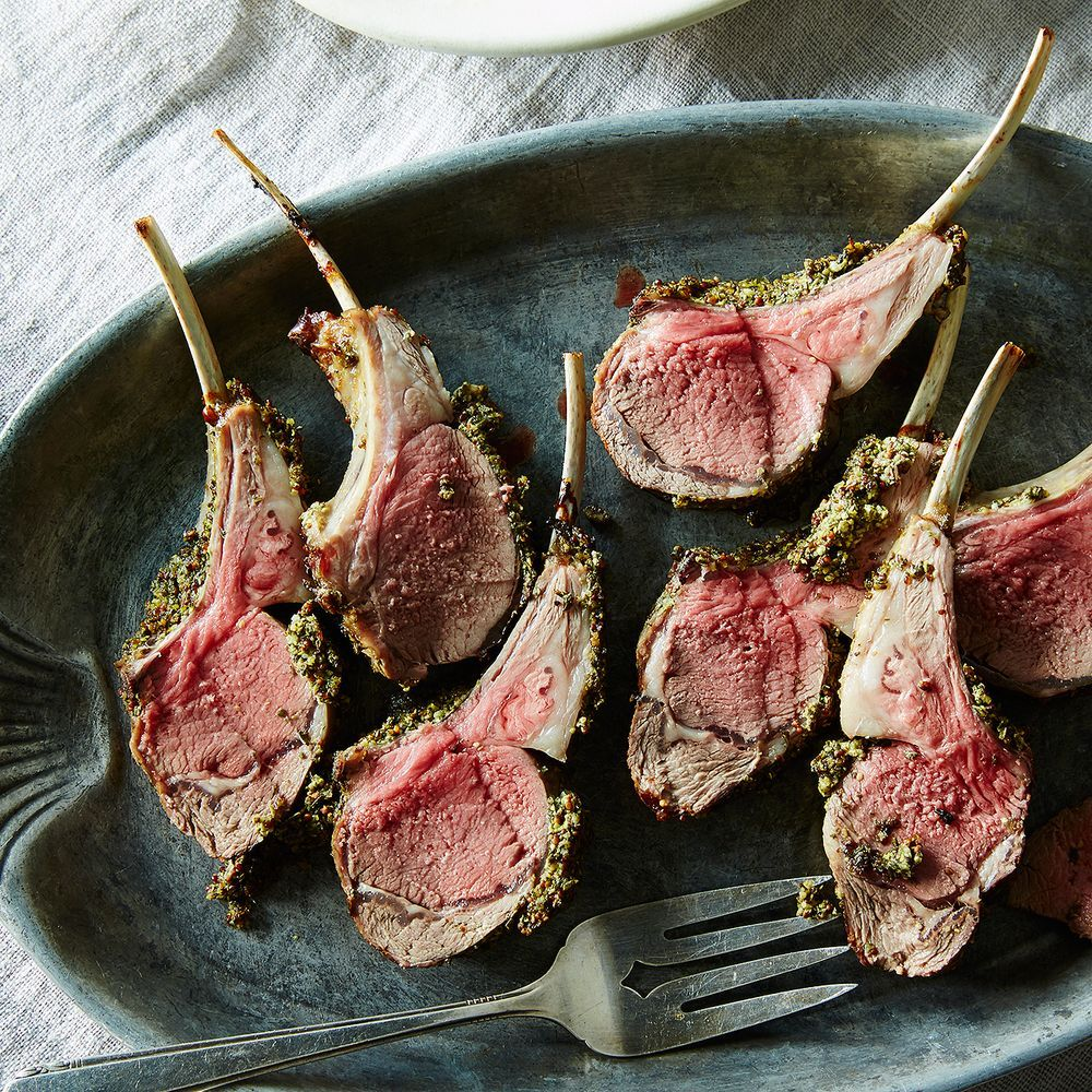 Herb and mustard crusted rack of lamb recipe lamb recipes lambs herb and mustard crusted rack of lamb forumfinder Images
