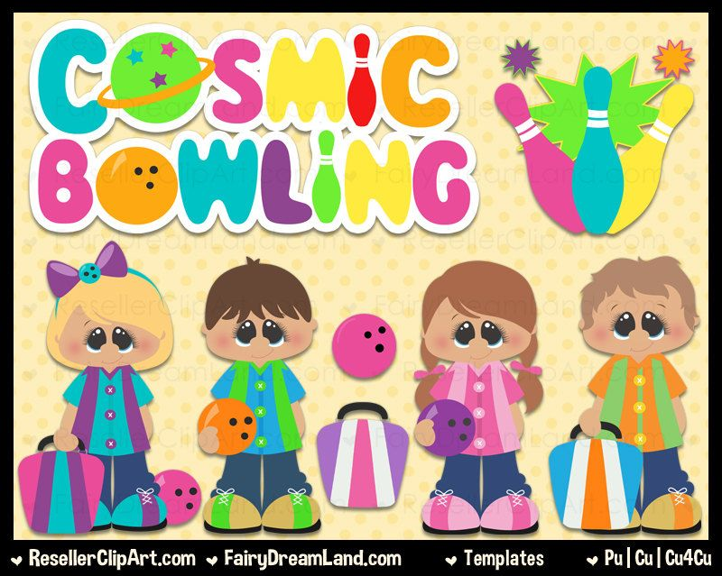 Cosmic bowling. Psd templates commercial use