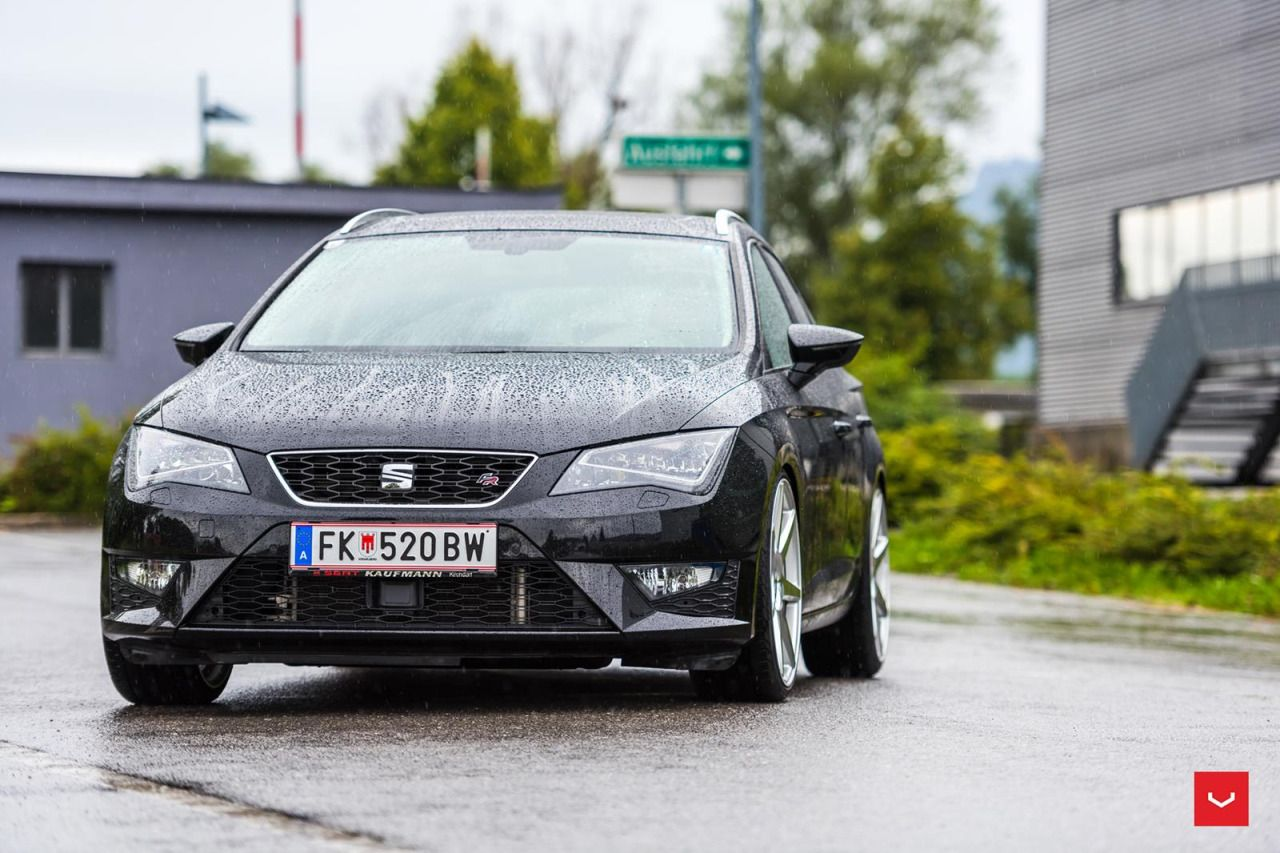 seat leon st fr by vossen vossen presents the cv7s cars. Black Bedroom Furniture Sets. Home Design Ideas