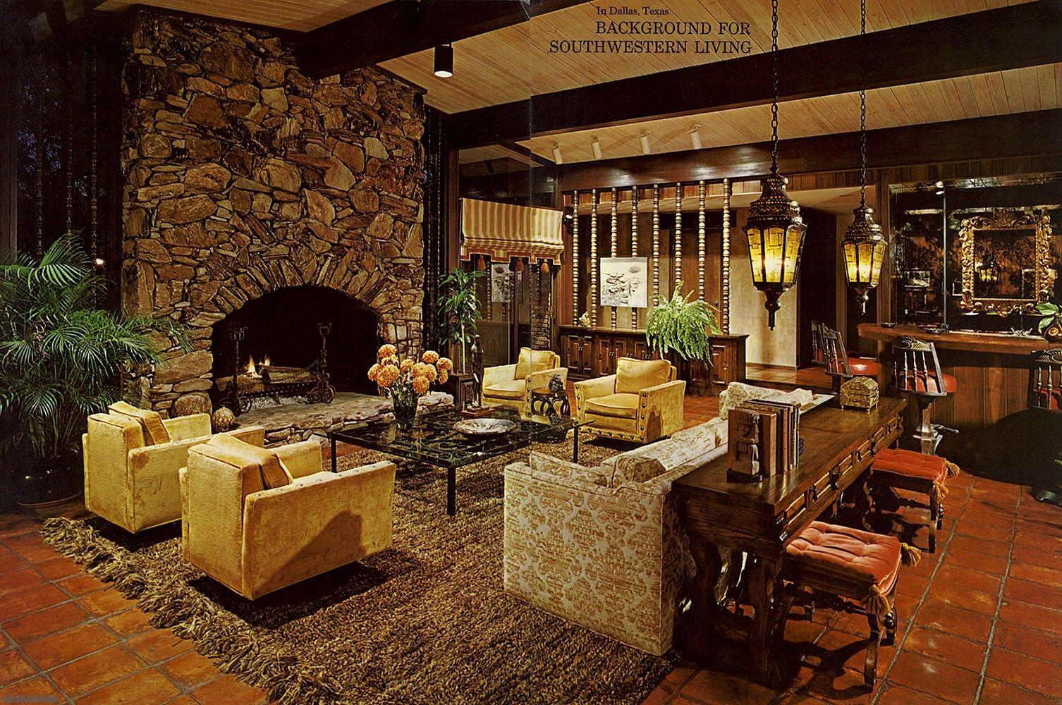 Design: 1960-1970 | Retro home decor, 1960s home decor ...