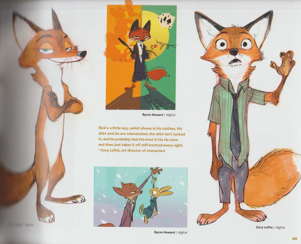 Disney Character Design Books : The art of zootopia concept book update more pages