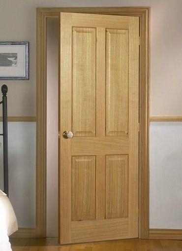 Magnet Trade - Regency Oak 4 Panel Pre-finished | Puertas ...