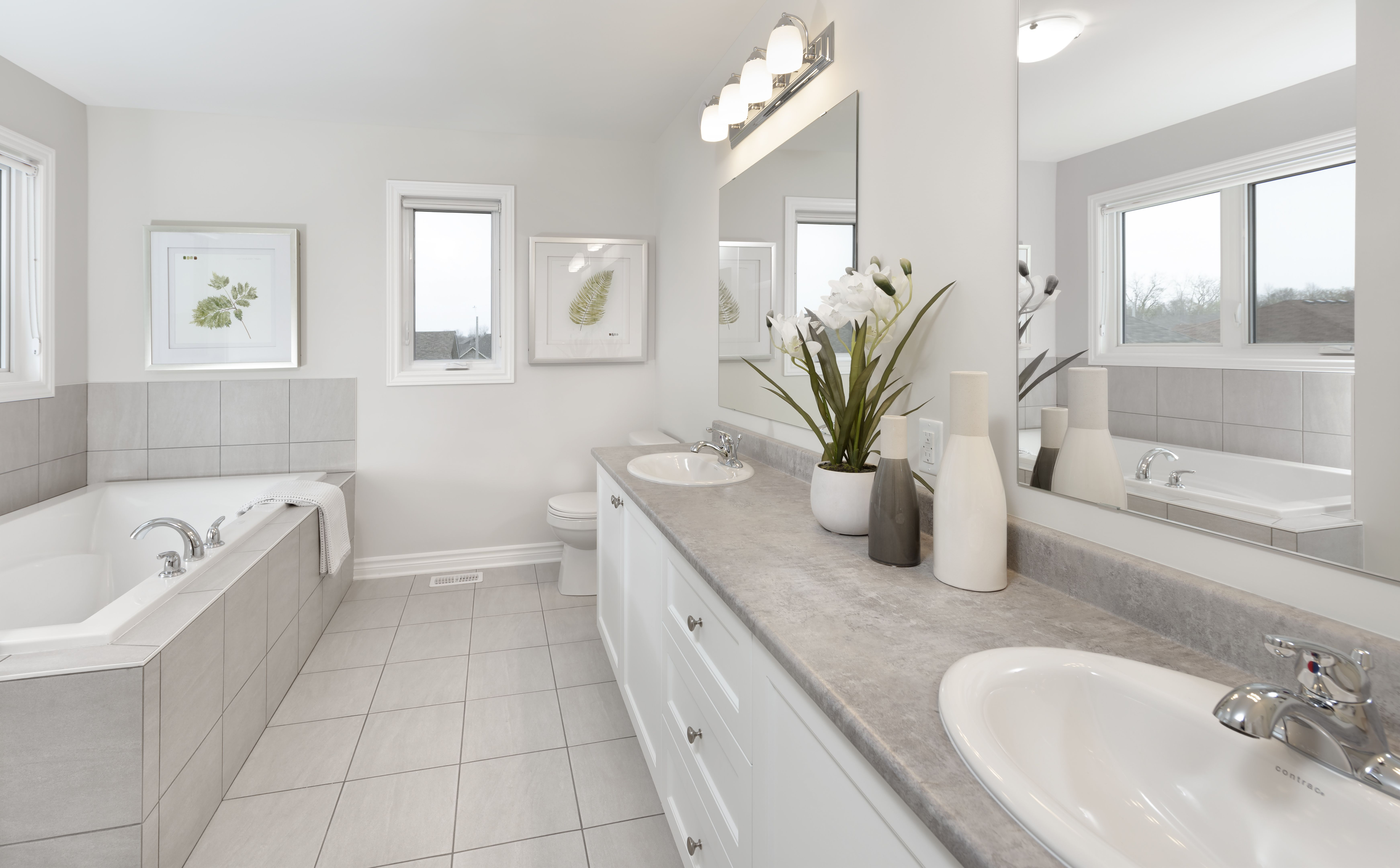 This Is The Ensuite Of The Summerhill Model Home In