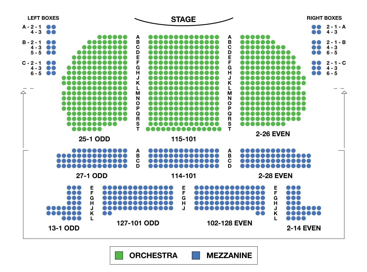 Fireside Theater Seating Chart J Ole Com