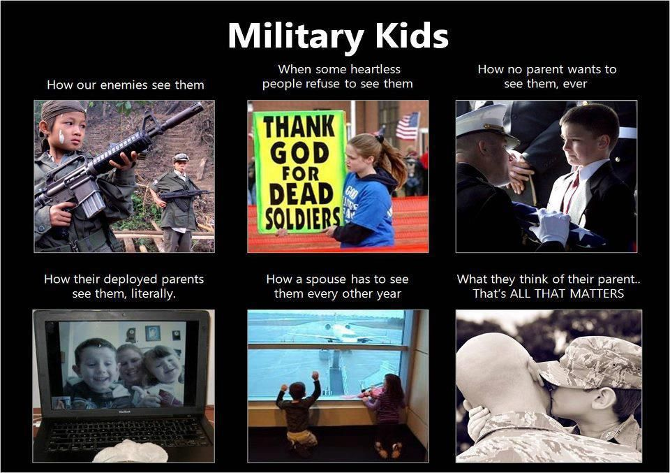I'm A Military Brat, My Husband Is A Military Brat, And