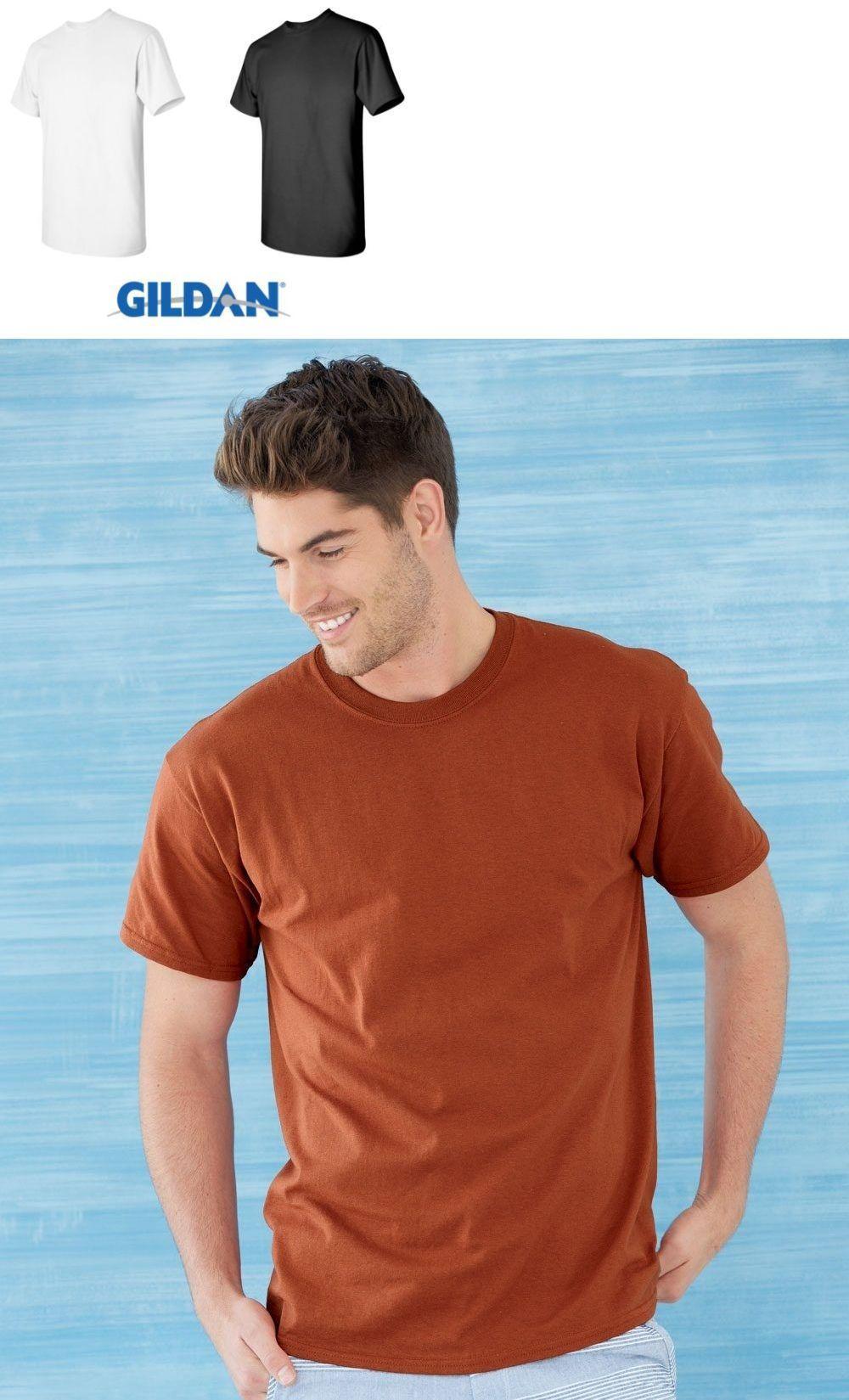 100 Gildan T SHIRT BLANK BULK LOT Black 50 Mix Match White Plain S--XL Wholesale