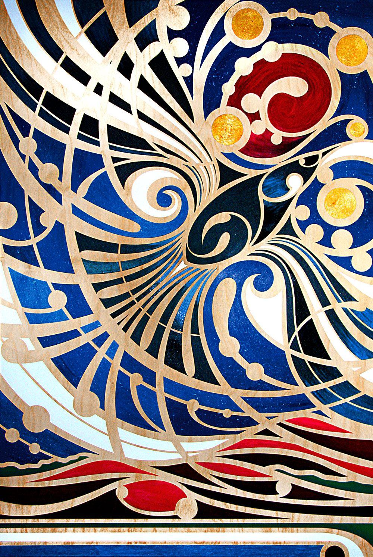 Koru art … | Maori art, Polynesian art, Nz art