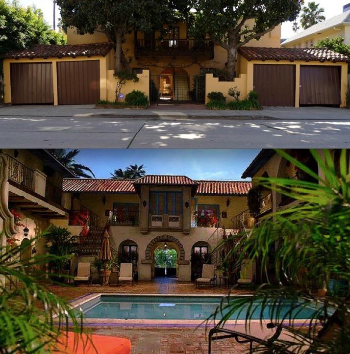 Melrose Place Tv Show Apts El Pueblo Apartments 4616 Greenwood Los Feliz Calif