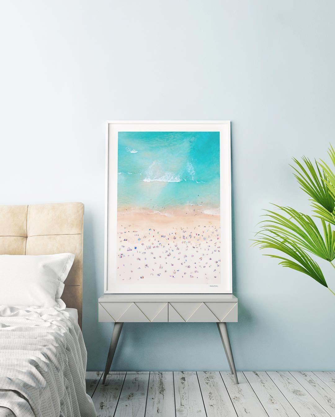 11 8k Likes 28 Comments Pantone Pantone On Instagram Wake Up To The Serene Colors Of Bondi Beach C Gray Ma Modern Beach Decor Coastal Wall Decor Decor