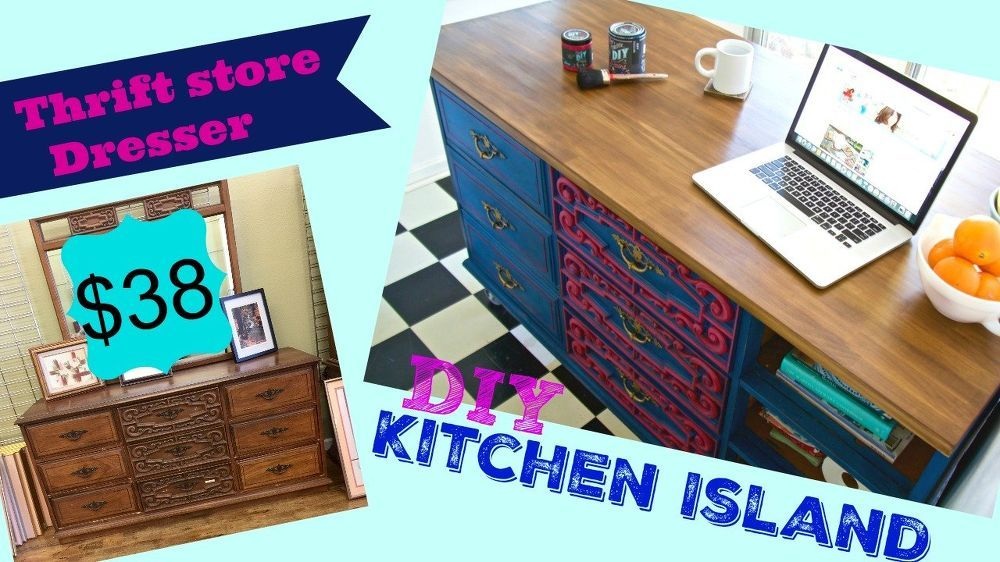 Turn a Thrift Store Bargain Into a Kitchen Island | Thrift, Kitchens Thrift Shop Kitchen Ideas on entertainment ideas, photography shop ideas, work shop ideas, home shop ideas, craft shop ideas, travel ideas, shop setup ideas, vintage shop ideas, wood shop ideas, car wash ideas, theater ideas, diy shop ideas, shopping ideas, gift shop ideas, girlfriend ideas, daycare center ideas, shop storage ideas, barber shop ideas, jewelry shop ideas, flea market ideas,