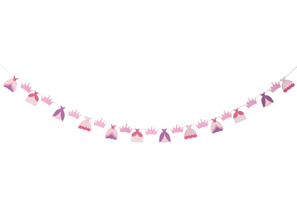 MERRILULU - Once Upon a Time - Garland - Room Decor - Princess Party