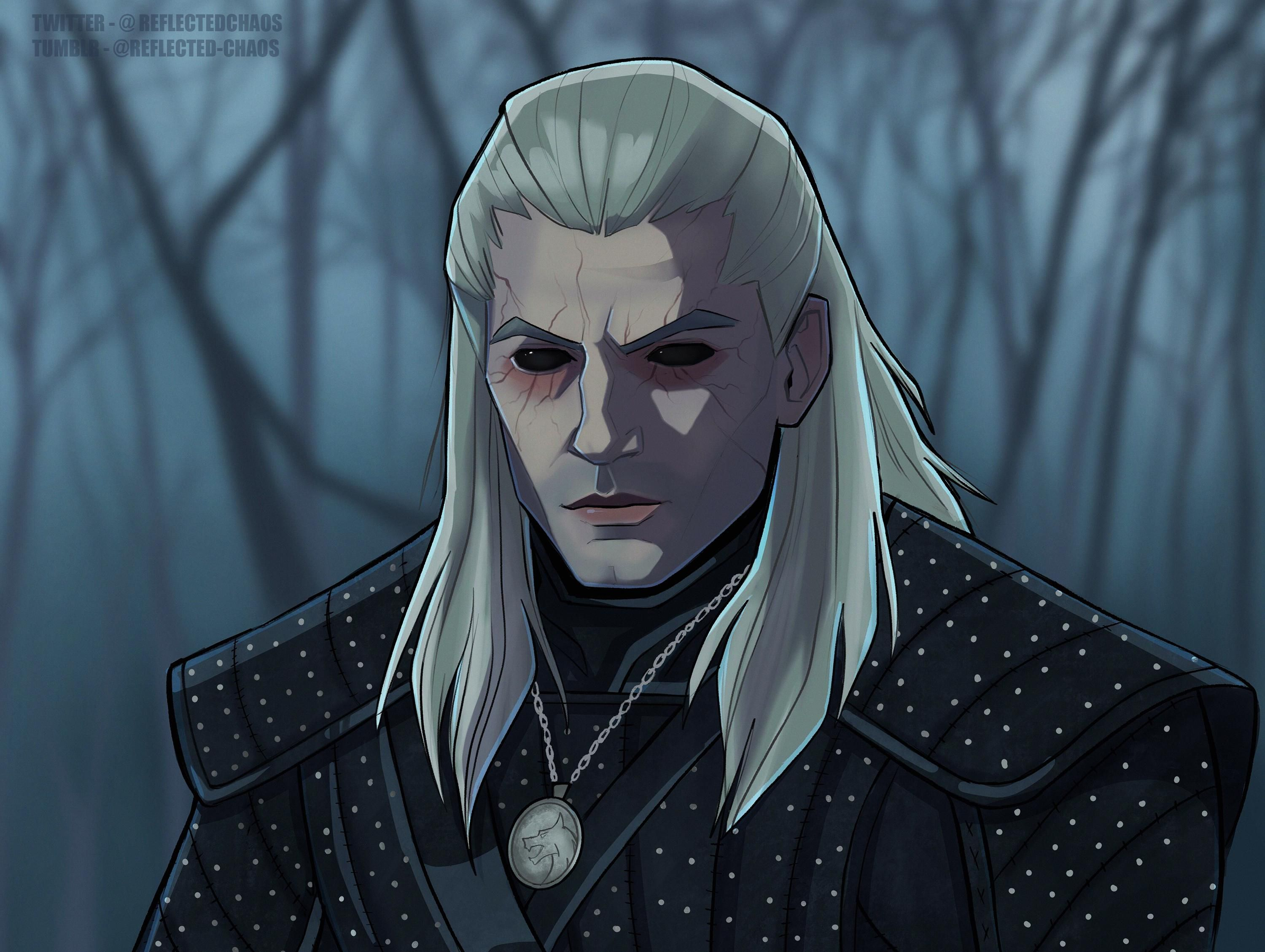 My Fan Art Of Geralt From The Witcher Netflix Series Witcher In