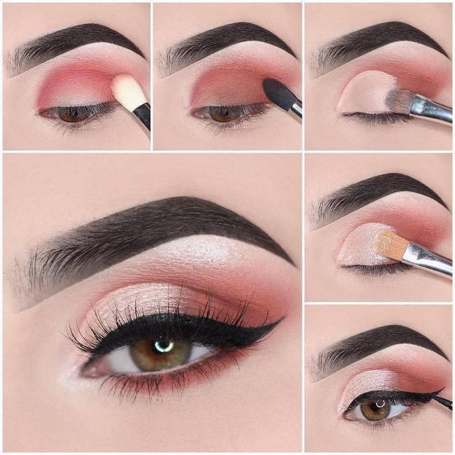 maquillaje de noche elegante paso a paso  Buscar con Google #makeuppasoapaso ma