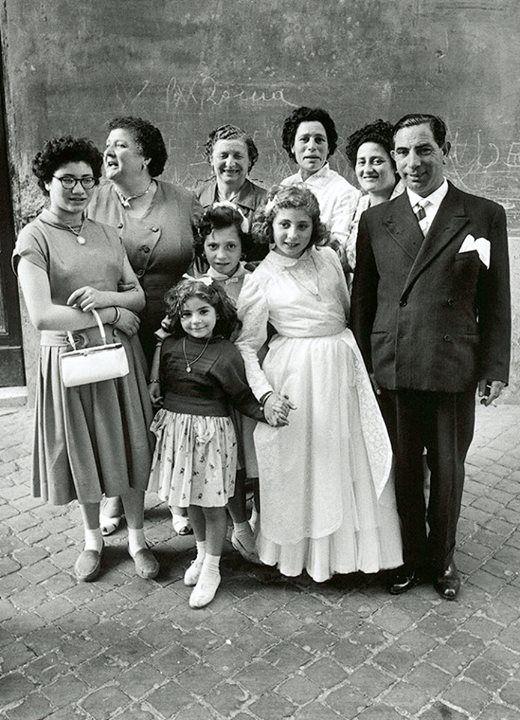 William Klein, Rome, 1956.