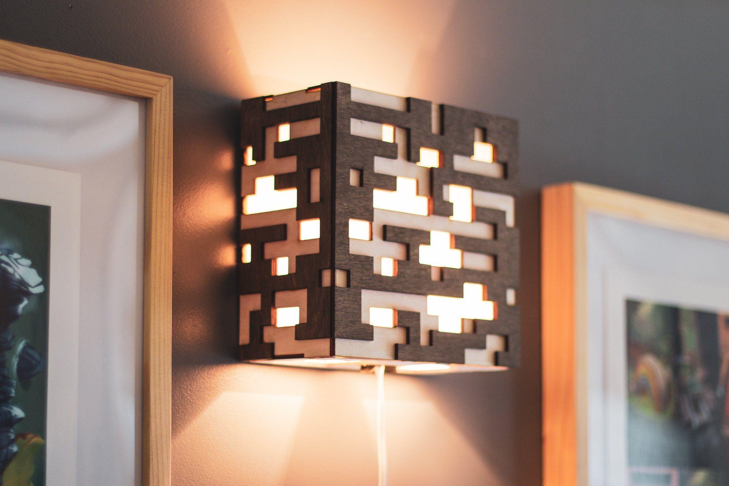 Minecraft Ore Lamp Etsy Minecraft Room Decor Minecraft Bedroom Decor Minecraft Room