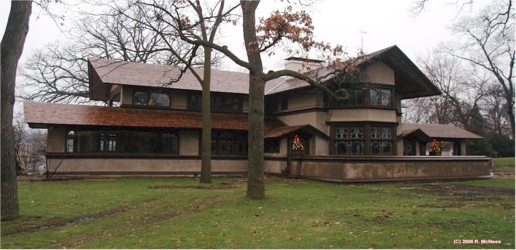 Frank Lloyd Wright Prairie Houses look at this beautiful flw house. | the house that jack built