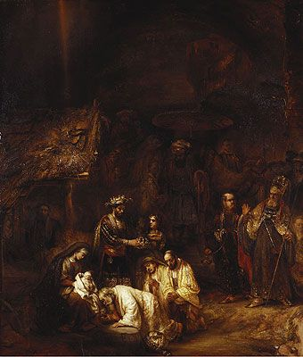 The Adoration Of The Magi Rembrandt Painting Reproduction Rembrandt Paintings Hand Painting Art Rembrandt