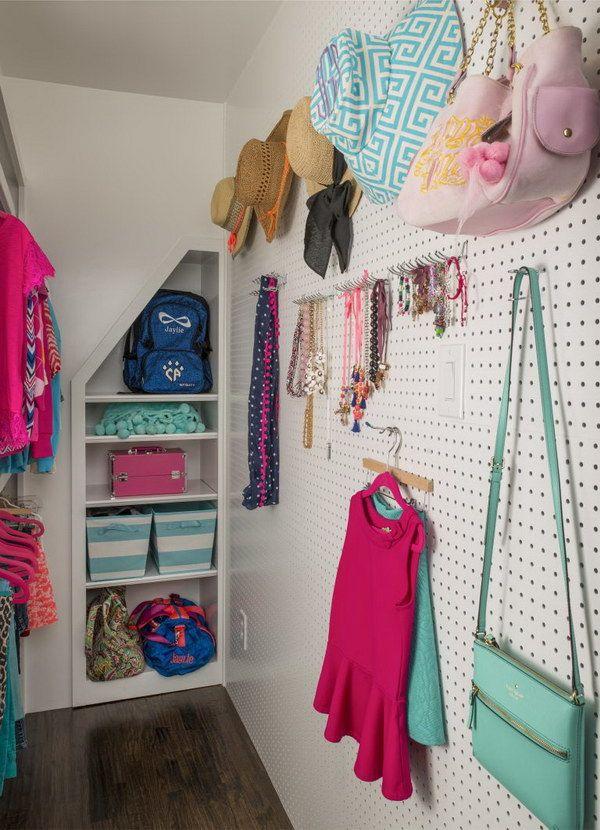 49 Cool Teenage Girl Bedroom Decorating Ideas | Pinterest