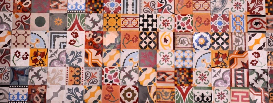 Lebanese tiles are just as spectacular as the ones we for Arabesque lebanon cuisine