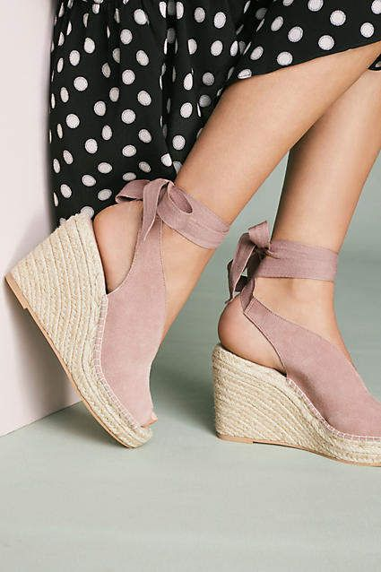 3c25ffd55 Peep Toe Shoes · Shoes Heels Wedges · Wedge Shoes · Strappy summer wedges,  super cute #wedges #sandal #summer #summerstyle #fashion