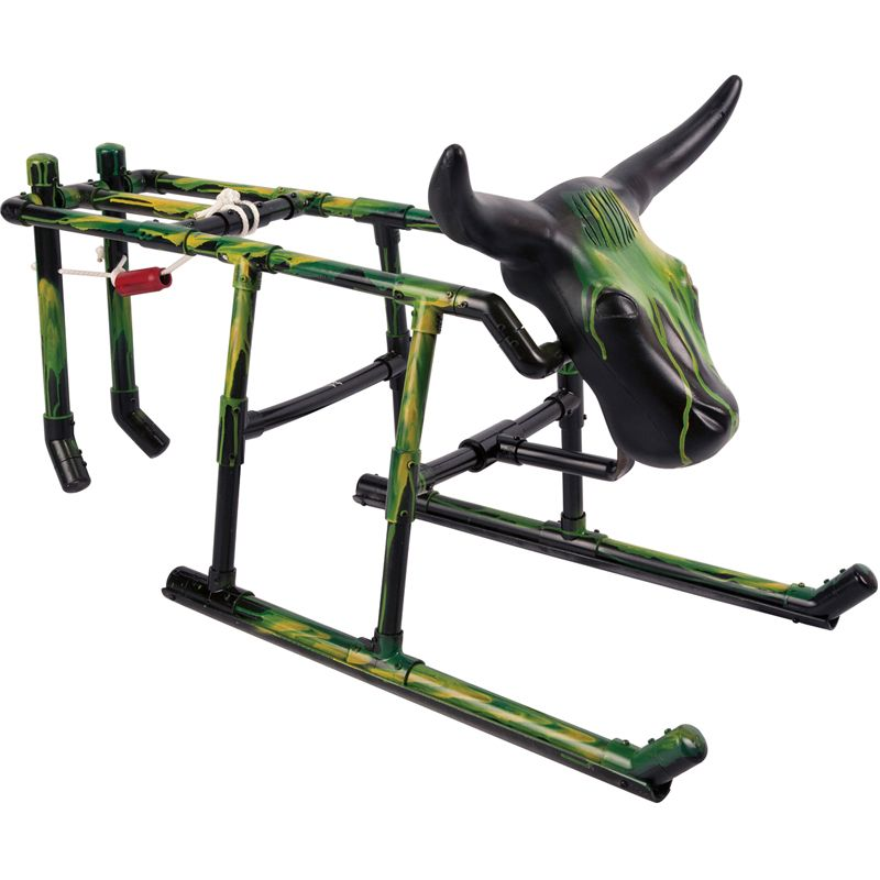 Roping Arena Lights: The Dragsteer Roping Dummy