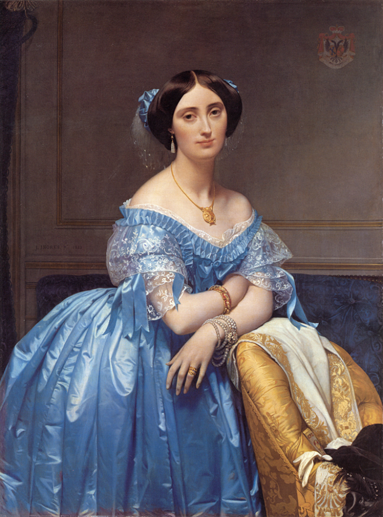 Princesse Albert de Broglie (1853), Metropolitan Museum of Art | byJean Auguste Dominique Ingres