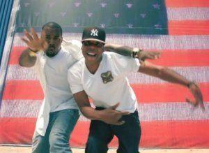 Jay Z Kanye S Spike Jonze Directed Video Drops Jay Z Kanye West Otis Otis Kanye
