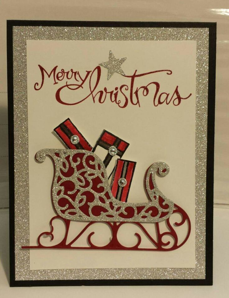 1023 best images about Christmas Cards Stampin Up on Pinterest ...