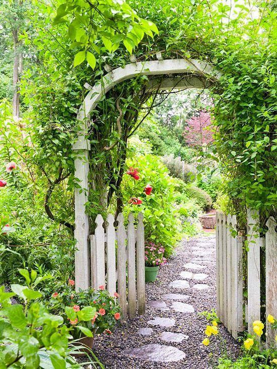 40 Inspirations Pour Un Jardin Anglais Arche Jardin Beaux Jardins Jardins