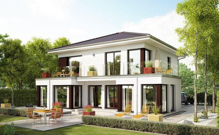 Villa Evolution154 - toit 4 pans - variante 10 | Traumwohnung ...