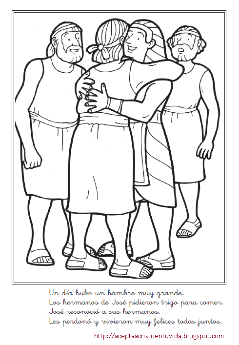 Dibujos Para Colorer La Tentacion De Jose Bible Coloring Pages Family Coloring Pages Bible Pictures