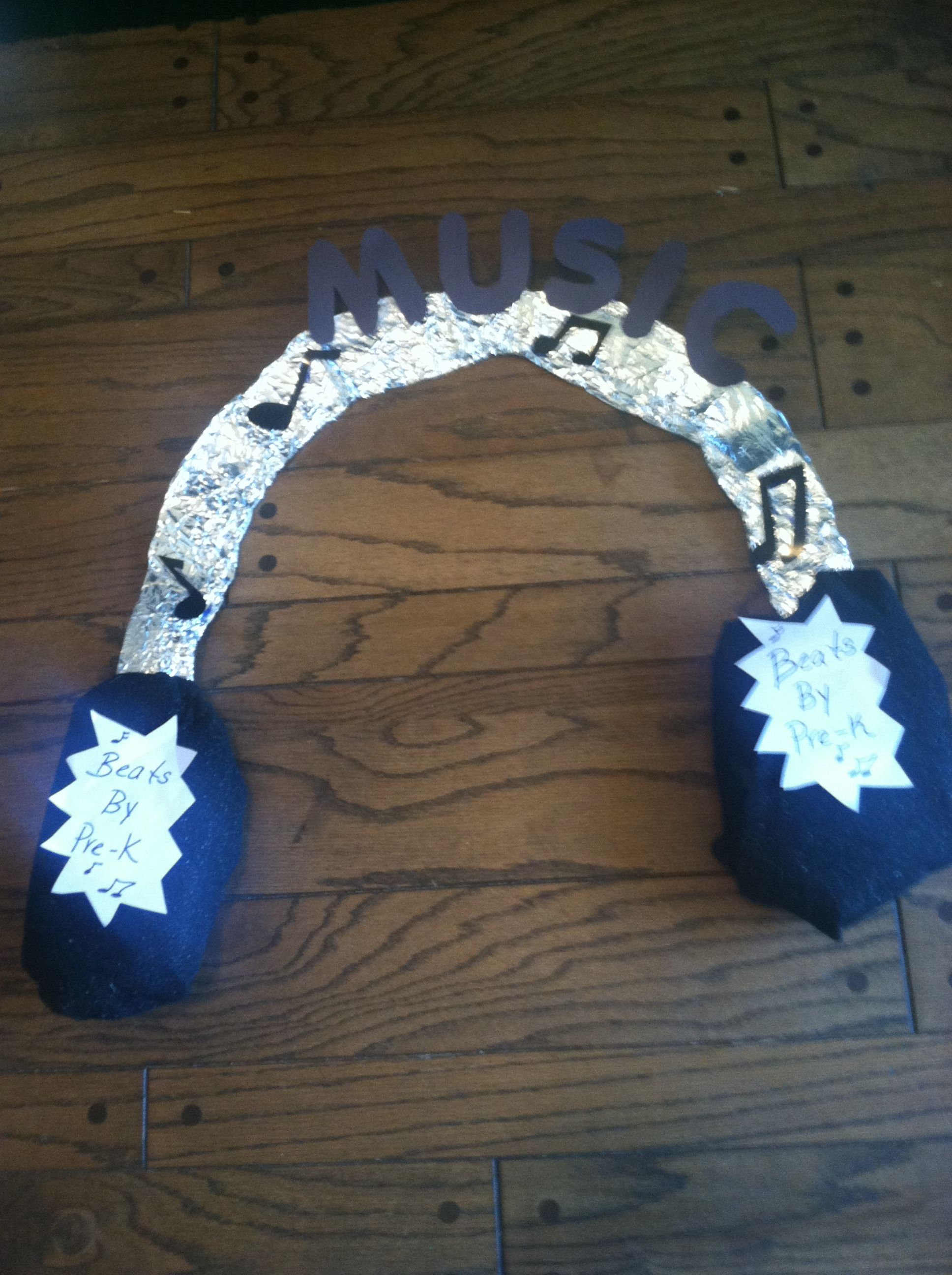 Music Center Sign I Made For My Pre K Classroom Beats