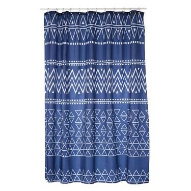 Linea Home Aztec Shower Curtain