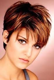 Image Result For Wash And Wear Short Haircuts With Bangs Very Short Bob Hairstyles Short Hair Styles For Round Faces Short Thin Hair