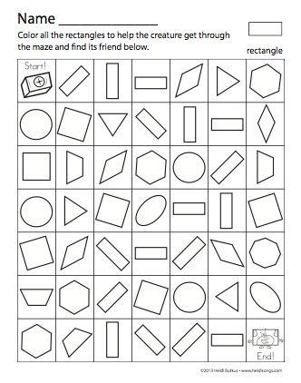 20 off 10 or more black friday sale shapes maze for kids maze worksheet mazes for kids. Black Bedroom Furniture Sets. Home Design Ideas