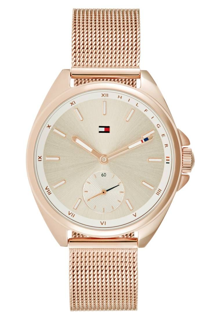 Tommy Hilfiger. Reloj - rose gold-coloured. Material de la pulsera ... d2e5b712797e
