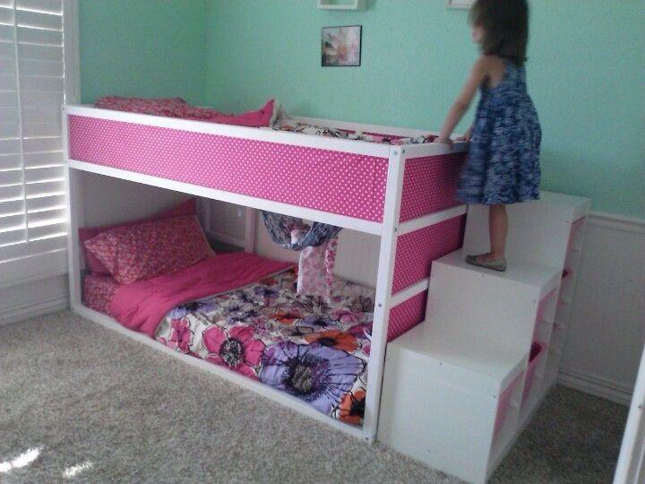 Kura Reversible Bed White Pine Ikea Loft Bed Kids Bunk Beds