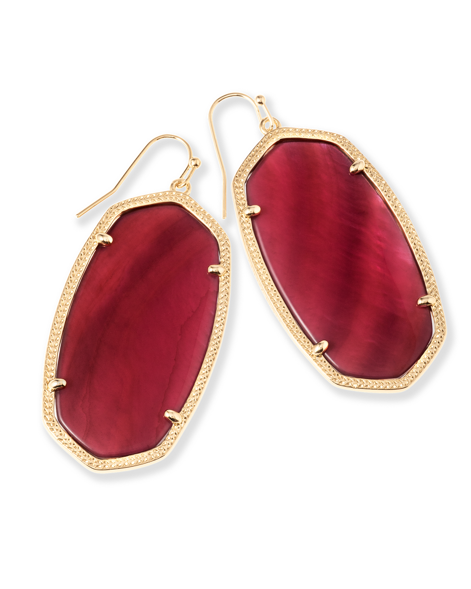 Burgundy danielle 2016 wish list pinterest gold kendra scott danielle earrings in burgundy illusion gold plated ltd edition arubaitofo Choice Image