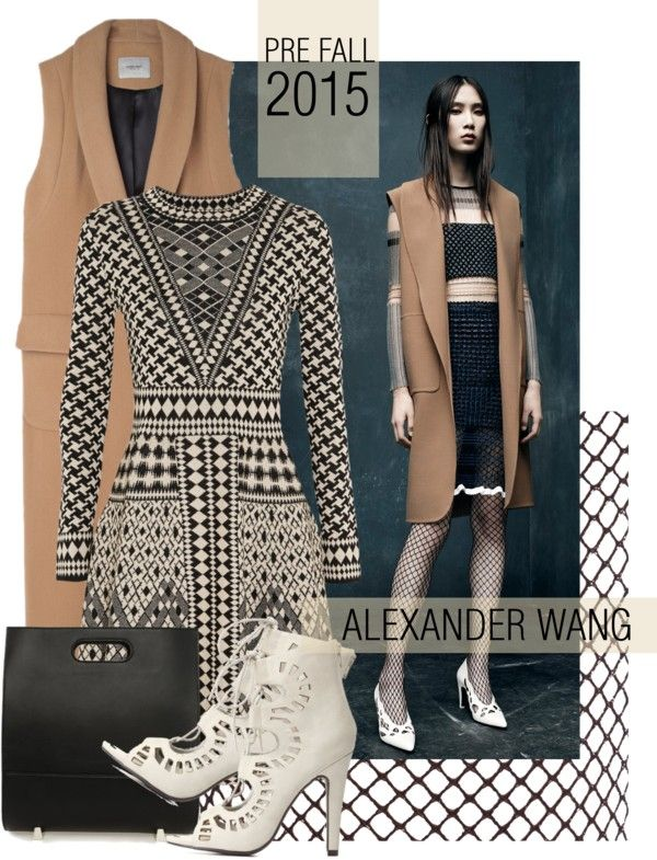 """Pre Fall 2015 Alexander Wang"" by missbeaheyvin on Polyvore"