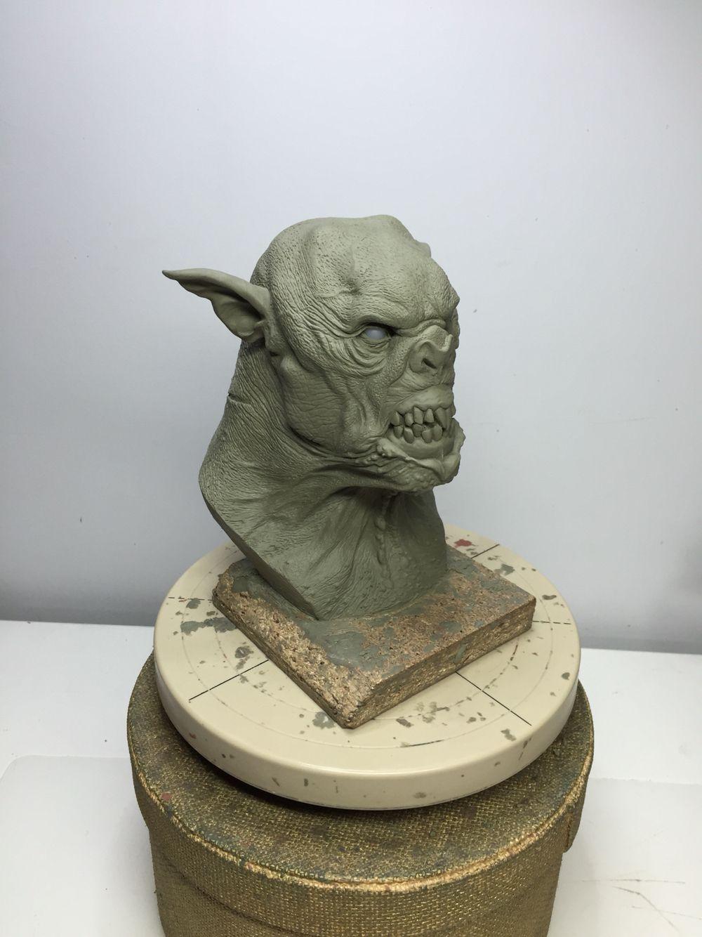 Orknsp mediuminch sculptris pinterest monsters