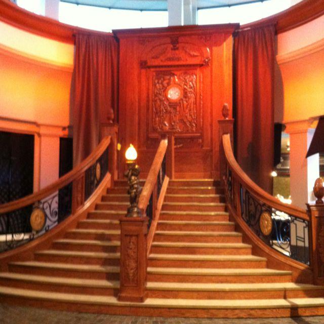 Titanic staircase at casino nova scotia greektown casino renovation