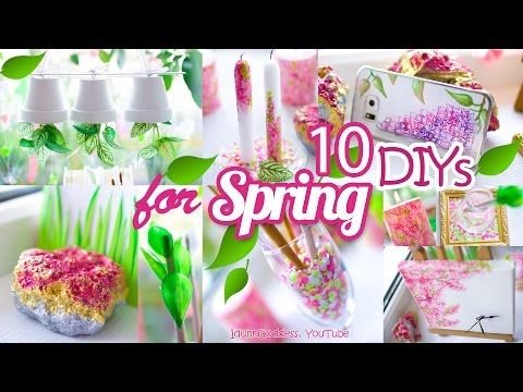 10 Diy Projects With Drinking Straws 10 New Amazing Drinking Straw Crafts And Life Hacks Youtube Diy Room Decor Tumblr Room Decor Spring Decor Diy