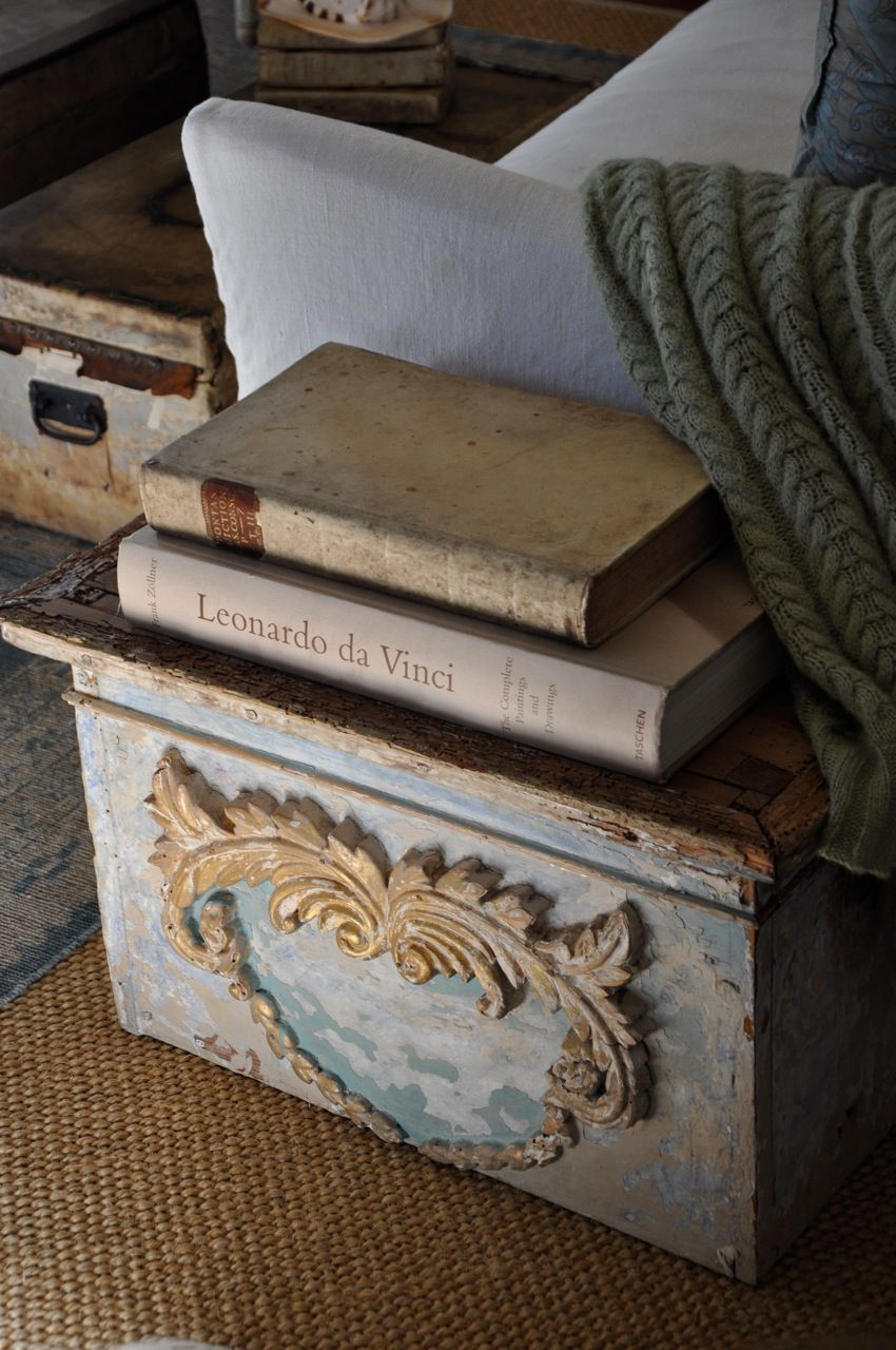 Adding A Few Architectural Elements To Our Home Patina Style Old Boxes Architectural Elements