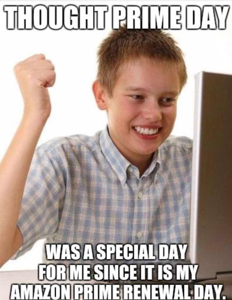 Amazon Prime Day Memes - 03/2021